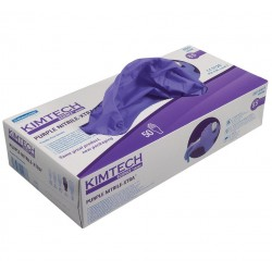 KIMTECH SCIENCE* PURPLE NITRILE XTRA* Nitrile Gloves, 30 cm Ambidextrous, sizes XS to XL, purple