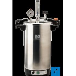 CERTOCLAV CV-EL 18L GS table-autoclave, 18 ltr. with valve 1.1bar, 121°C