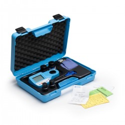 Multiparameter Photometer HI 96104C in a carrying case, incl. CAL CHECK standards