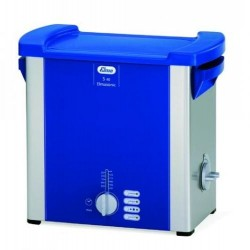 Elmasonic S 10 H 230 V, 0,8 Ltr., with heating 190 x 85 x 60 mm, with lid