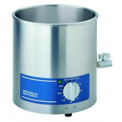 Ultrasonic bath RK 106 cap. 5.6 ltrs, without heating with Swiss plug