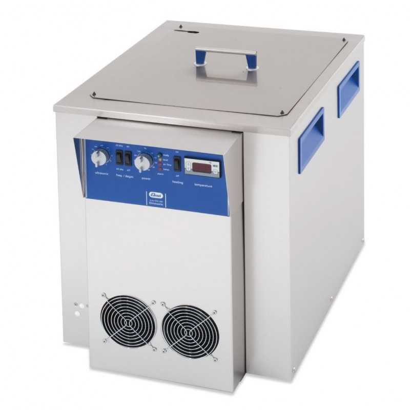 Elmasonic X tra 250 LSM Ultrasonic cleaning unit,w.frame with cooling coil 28 ltr, 25 / 45 kHz