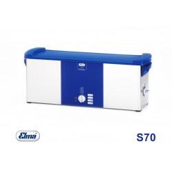 Elmasonic S 70 H 230 V, 6,9 Ltr., with heating 505 x 137 x 100 mm