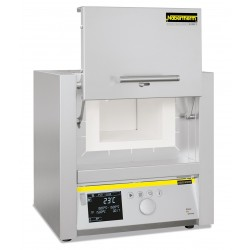 High temperature furnace HTCT 01/16/P330 with controller P 330, SiC rod heated, max. 1550°C