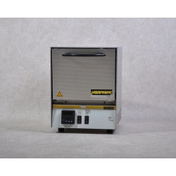 High temperature furnace HTCT 03/14/P330 with controller P 330, SiC rod heated, max. 1400°C