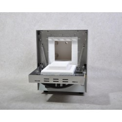 High temperature tube furnace RHTH 120-600/P310 Tmax 1600°C, incl. working tube C 799 and 2 fibre plugs 105x830 mm iØ x L