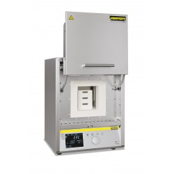 High temperature furnace HTCT 08/14/P330 with controller P 330, SiC rod heating, max. 1400°C