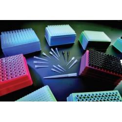 Накрайници за пипети, автоклавируеми, с филтър, стерилни, прозрачни, 1-1000 ul, 96 бр.