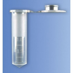 Микроепруветки тип Епендорф, 2.0 мл, стерилни, 250 бр.